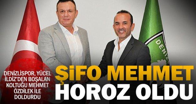 Mehmet Özdilek Denizlispor teknik direktörü oldu