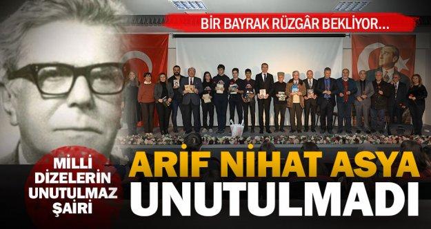 Büyükşehir, Arif Nihat Asya'yı unutmadı