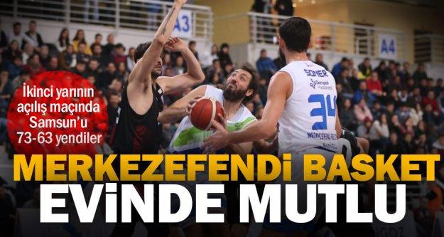Merkezefendi Basket, evinde Samsunspor'u 73-63 yendi