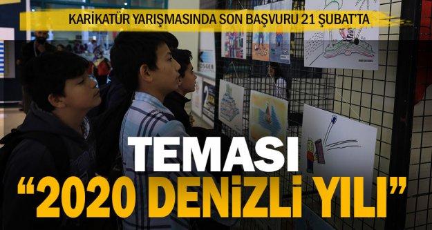 Büyükşehir karikatür yarışması başvurularında son gün 21 Şubat