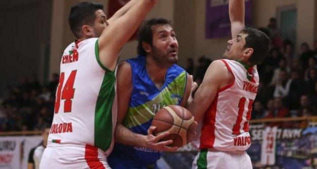 Merkezefendi Basket, Yalova'ya yenildi