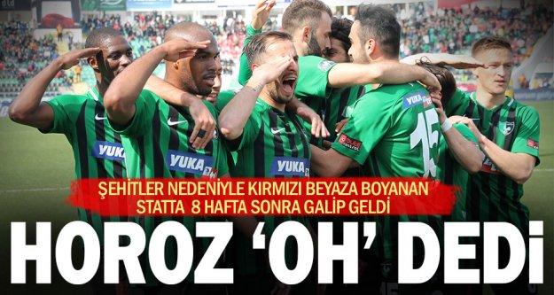 Denizlispor: 2, Y.Malatyaspor: 0