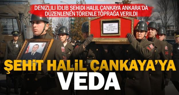 Şehit Uzman Onbaşı Halil Çankaya, Ankara'da son yolculuğuna uğurlandı