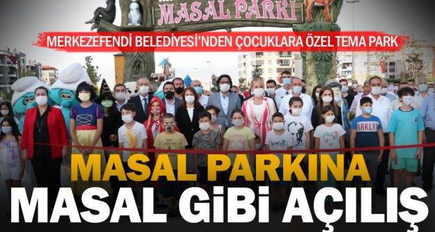 Merkezefendi Belediyesi Masal Parkı kapılarını açtı