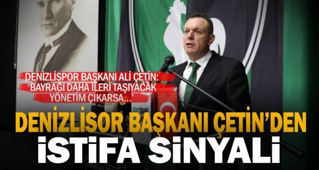 Denizlispor'da 'istifa' sesleri yükseliyor