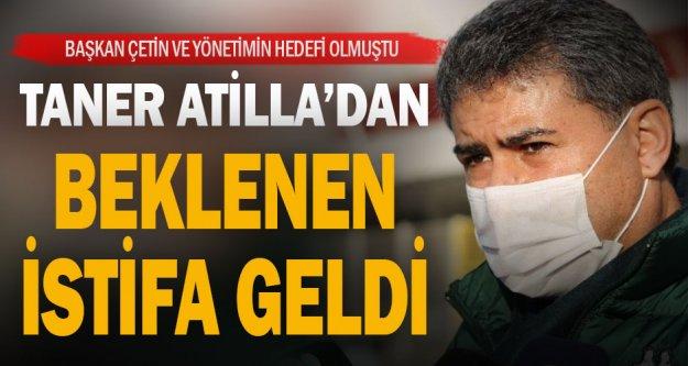 Denizlispor'da yönetici Taner Atilla istifa etti