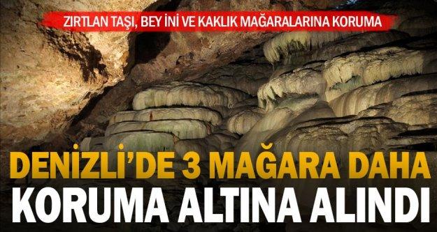 Denizli'de 3 mağara için daha koruma kararı çıktı