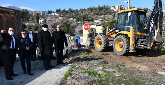 Başkan Şevik, Sanayi Bölgesi'ndeki çalışmaları yerinde inceledi