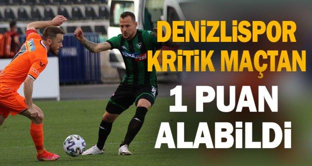 Denizlispor - Başakşehir maçı golsüz bitti
