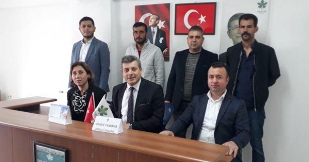 Gelecek Partisi İlçe Başkanlarını Tanıttı