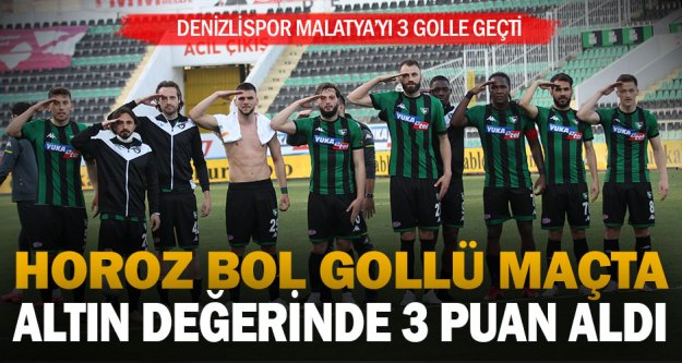 Horoz Malatya'yı 3 golle geçti