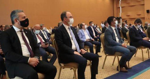 Başkan Örki bir kez daha encümen üyeliğine seçildi