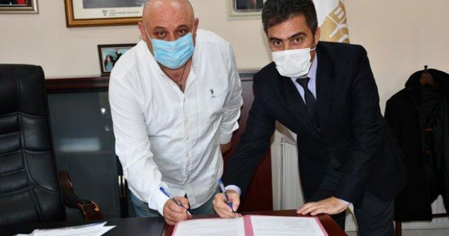 Buldan Belediyesi ile Tapu Müdürlüğü arasında protokol imzalandı