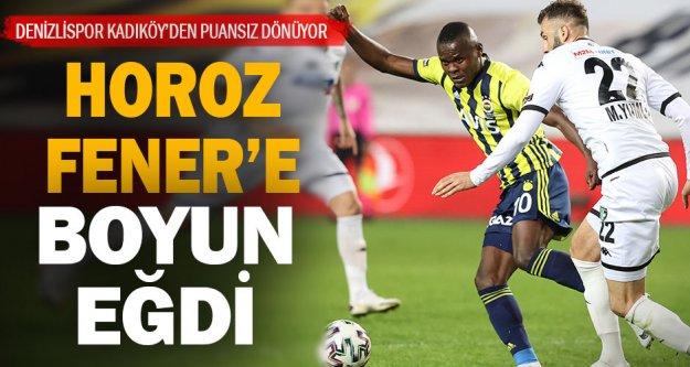 Fenerbahçe 1 - Yukatel Denizlispor 0