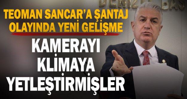 Milletvekili Teoman Sancar'a şantaj yaptığı iddia edilen 5 şüpheli hakkında dava açıldı