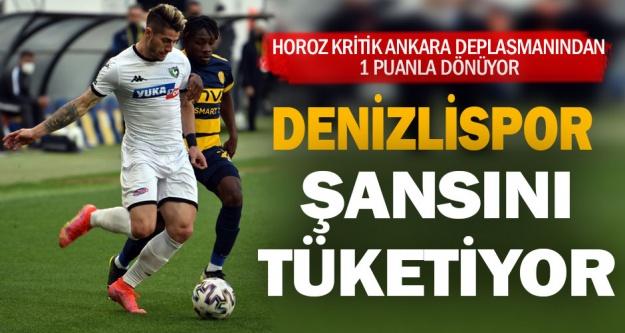 MKE Ankaragücü 1 - Yukatel Denizlispor 1