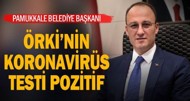 Pamukkale Belediye Başkanı Avni Örki'nin koronavirüs testi pozitif çıktı