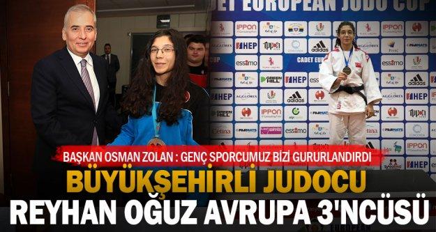 Büyükşehirli judocu Oğuz Avrupa 3'ncüsü