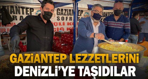 Gaziantep lezzetlerini Denizli'ye taşıdılar