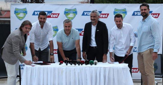 Yukatel, Merkezefendi Belediyesi Kulübü'ne isim sponsoru oldu