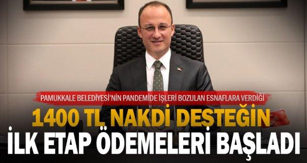 Pamukkale Belediyesi'nin destekleri hesaplara yatırılıyor