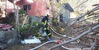 Kale'de ev yangını maddi hasara neden oldu