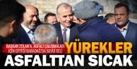 Başkan Osman Zolan Babadağlılarla kucaklaştı