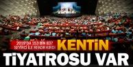 Büyükşehir ile tiyatroda seyirci rekoru