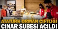 Atatürk Orman Çiftliği Çınar Şubesi açıldı