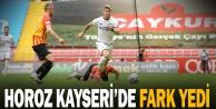 Denizlispor, Kayseri deplasmanında 10 kişi kaldı, gollü maçı kaybetti