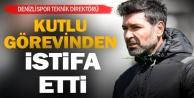 Denizlispor Teknik Direktörü Kutlu istifa etti