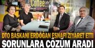 Başkan Erdoğan, DTO Yönetim Kurulu Üyeleri, Meclis Üyeleri, Meslek Komitesi Üyeleri ve Esnafı Ziyaret Etti
