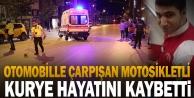 Denizli#039;deki trafik kazasında yaralanan motosikletli kurye hastanede hayatını kaybetti