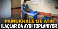 Pamukkale'de atık ilaçlar da ayrı toplanıyor