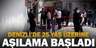 25 yaş ve üzerindeki vatandaşlar Kovid-19#039;a karşı aşılanıyor