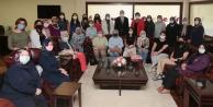 AK kadınlardan Başkan Zolan#039;a ziyaret