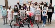 Merkezefendi'de resim ve şiir yarışmasının kazananları ödüllerini aldı