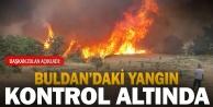 Başkan Zolandan, 'Yangın büyük ölçüde kontrol altına alındı açıklaması