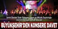 Büyükşehir#039;den konsere davet